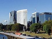 Zona financiera de Buenos Aires.
