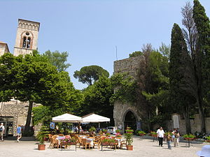 Center of Ravello Italy