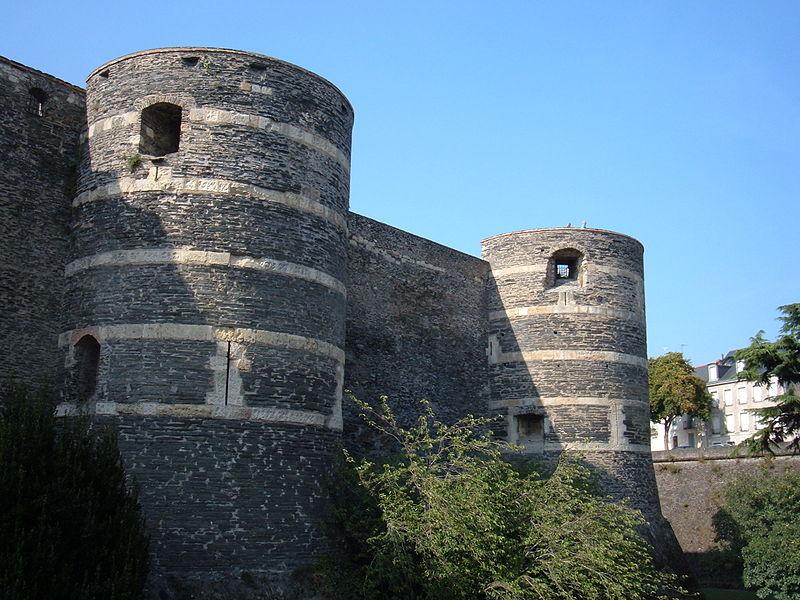 Château d'Angers walls 1