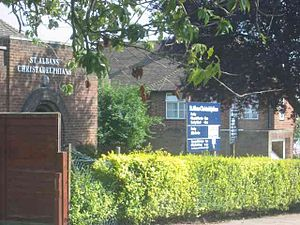 English: Christadelphians Church in Sopwell ar...