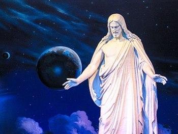 Latter-day Saints believe in the resurrected J...