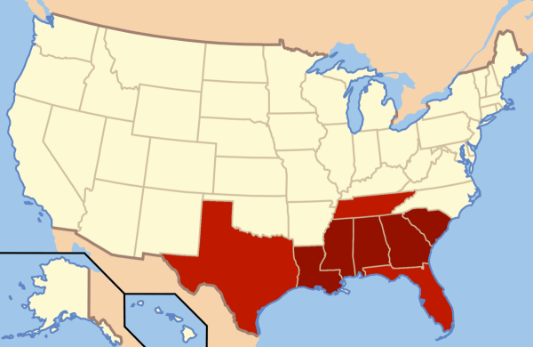 Deep South Wikipedia
