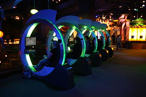 English: XBOX row inside Innoventions at Disne...
