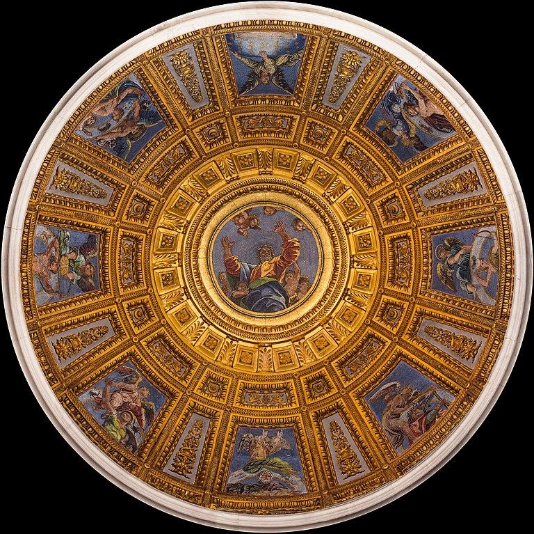 FileDome Cappella Chigi from inside Santa Maria del