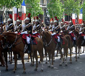 Republican Guard, cavalry (France), May 8, 200...