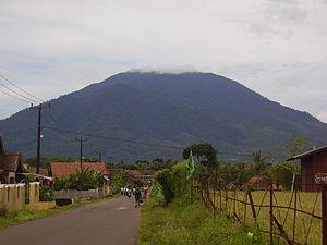 English: Mount Karang in Banten