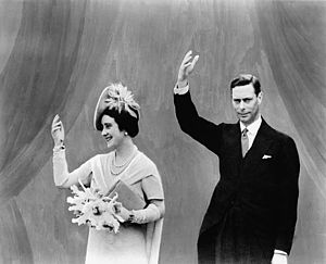 H.M. King George VI and Queen Elizabeth visit ...
