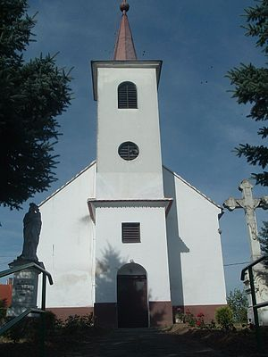 Roman Catholic Church in Hegyhátszentpéter