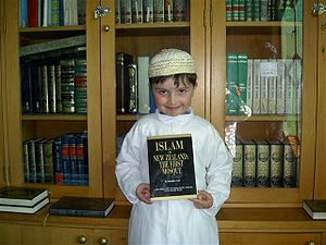 Islam in New Zealand book launch, 2007. Young ...