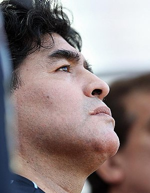 English: Diego Maradona