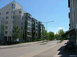 Suomi: Meri-Rastilan tien alkupäätä