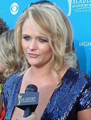 Miranda Lambert at the 45th Annual Academy of ...