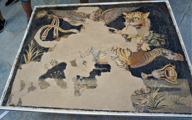 Mosaic - House of Dionysos at Delos by Joy of Museums