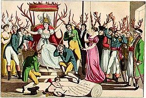 """The celebration [fête] of the Order of C..."