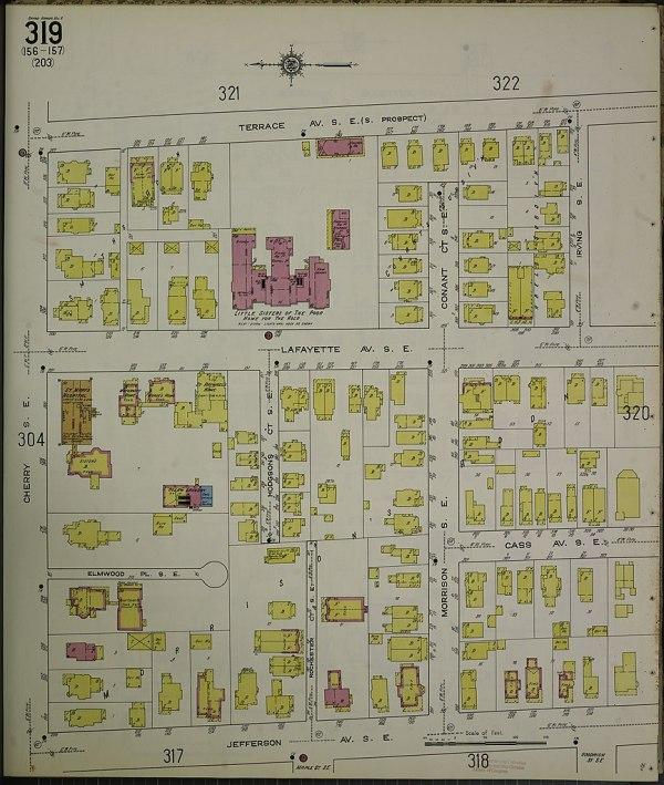 Grand Rapids Michigan County Map Imgurl