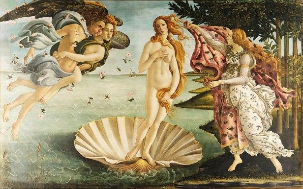 Sandro Botticelli - La nascita di Venere - Google Art Project - edited