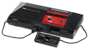 English: The Sega Master System video game con...