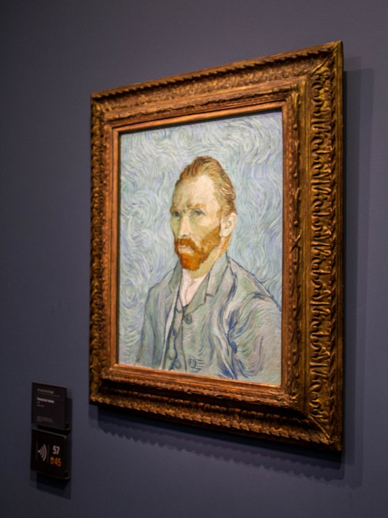 FileSelfportrait by Van Gogh 1889  Muse dOrsay 11