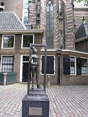 Statue to honor the sex workers of the world. ...