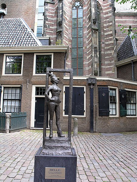 Statue to honor the sex workers...
