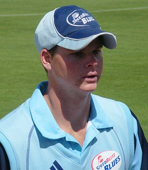 NSW Cricketer Steve Smith - NSW v Tasmania, Hu...