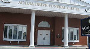 local funeral home