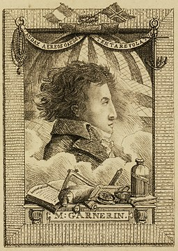 André-Jacques Garnerin by Edward Hawke Locker 1802