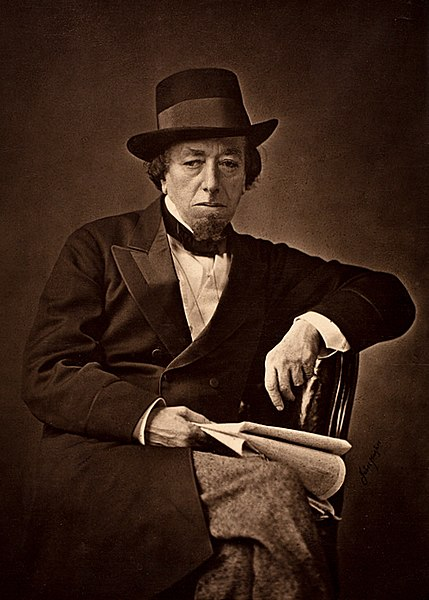 Disraeli in 1878.