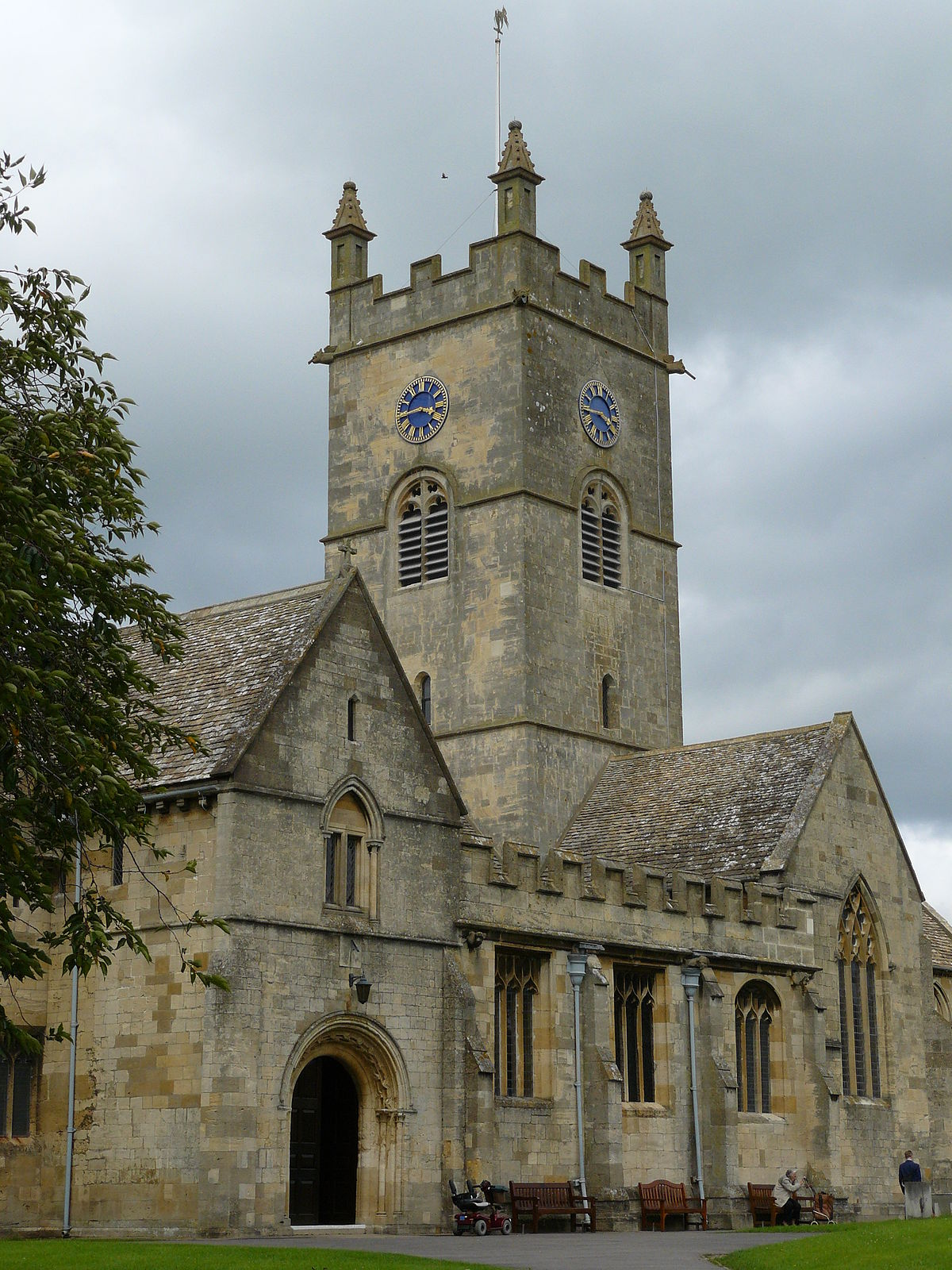 St Michael  All Angels Church Bishops Cleeve  Wikipedia