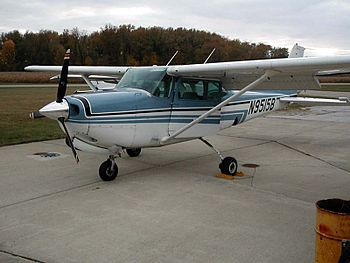 The Cessna 172RG is an example of an aircraft ...