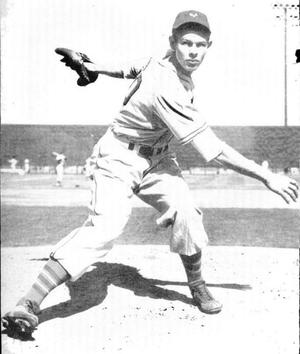 An image of Major League Baseball pitcher Clin...
