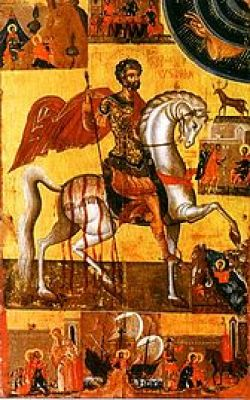 Image result for st. typasius the veteran