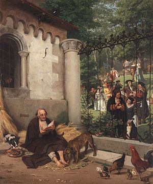 """Rich man and poor Lazarus"" (1865). ..."