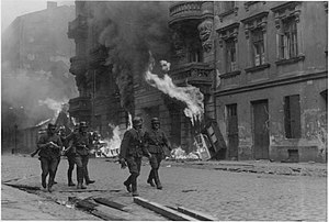 Warsaw Ghetto Uprising- Photo from Jürgen Stro...