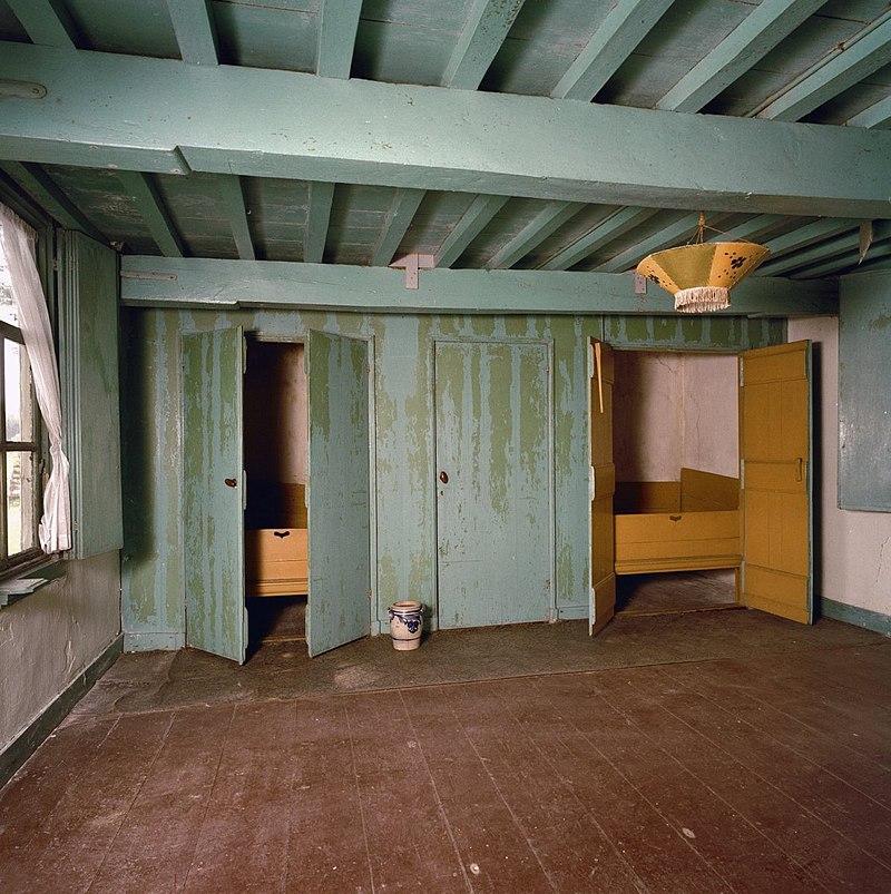 Boerderij van het krukhuistype met interieuronderdelen in