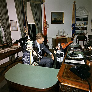 """Halloween visitors with the President, 3..."