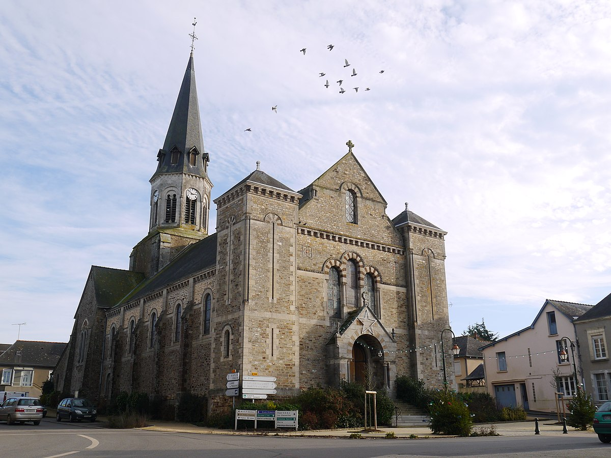 Glise Saint Martin De La Selle Craonnaise Wikipdia
