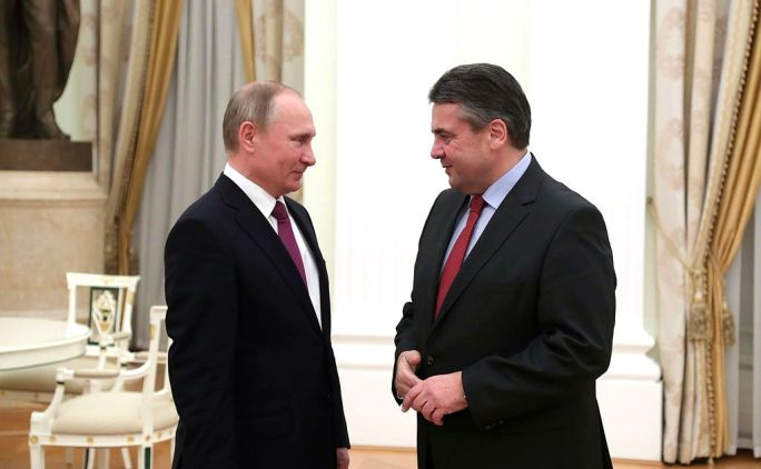Meeting with German Foreign Minister Sigmar Gabriel 6