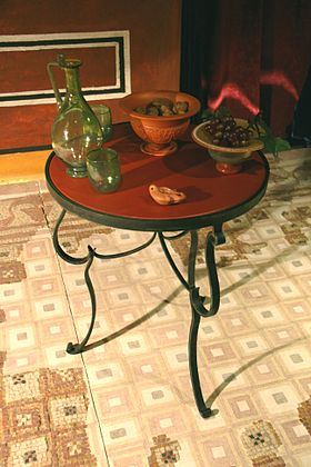 Repas dans la Rome antique  Vikidia lencyclopdie des 813 ans
