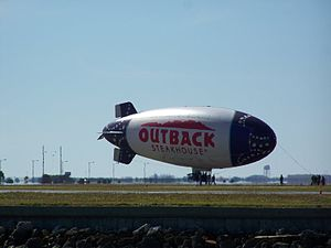 """Outback"" blimp at Peter O. Knight Airport in ..."