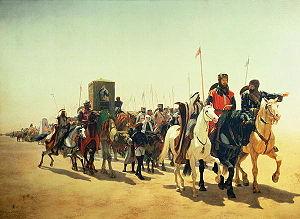 English: Richard, Coeur De Lion, On His Way To...