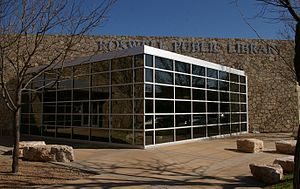 English: The Roswell Public Library