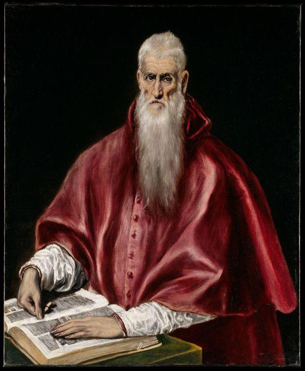 Saint Jerome as Scholar MET DT3103