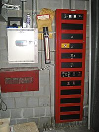 Basic Fire Alarm System Diagram Fire Alarm Control Panel Wikipedia