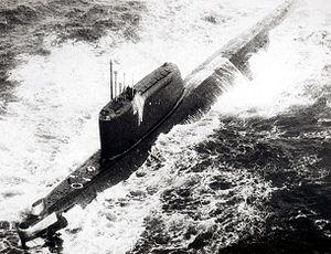 Hotel II submarine