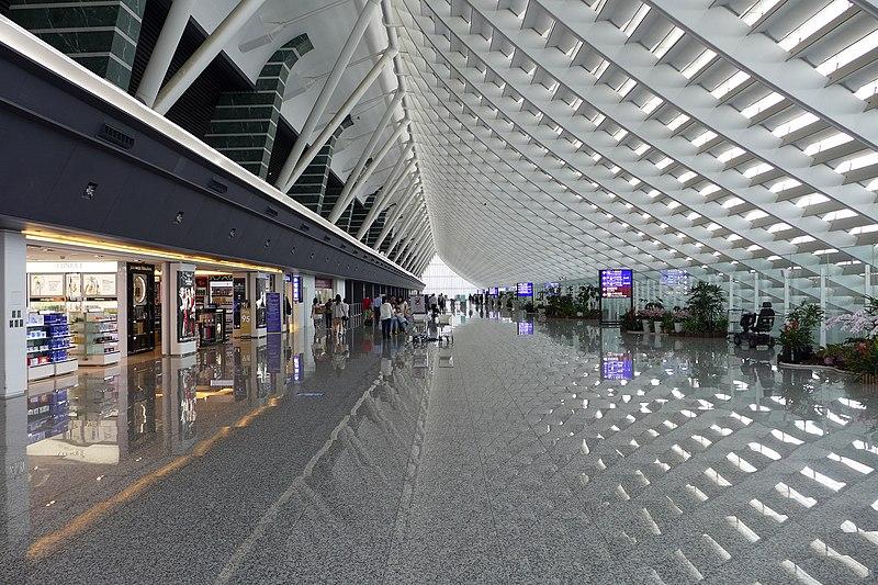 File:Taoyuan International Airport Terminal 1 Interior 201506.jpg