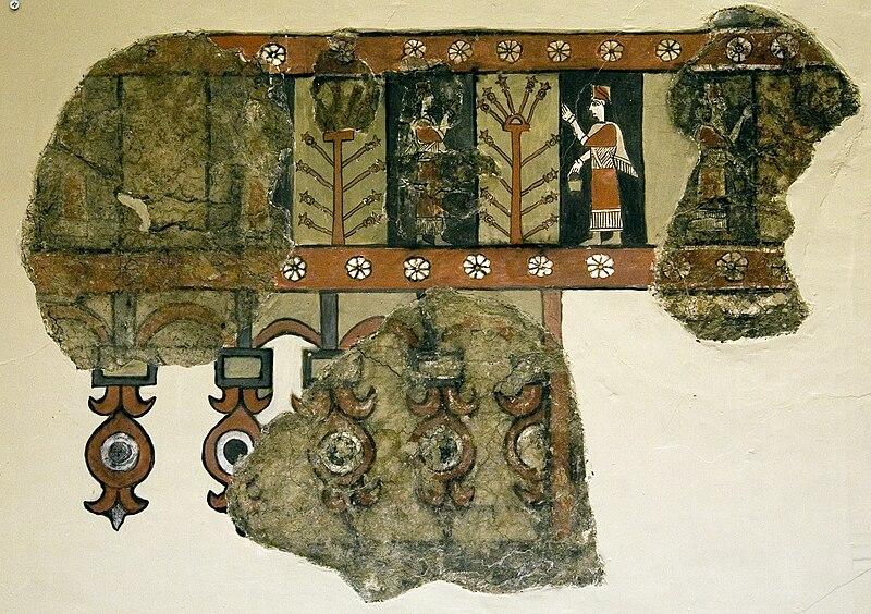 File:Tree of life in Urartian Fresco.jpg