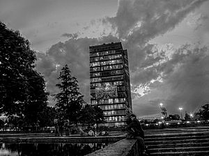 Rectorate Tower of the National Autonomous Uni...