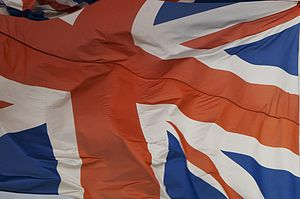 The Union Flag, the flag of the United Kingdom...