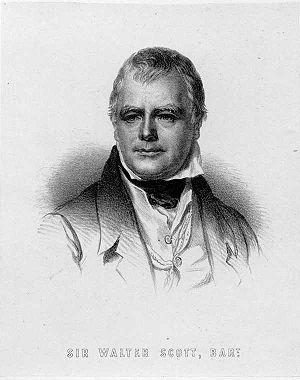 Sir Walter Scott.